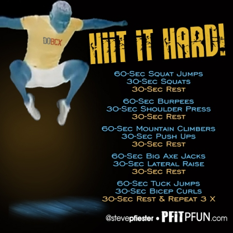 hiit it hard workout