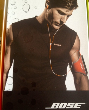 Reebok Bose Headphone Set