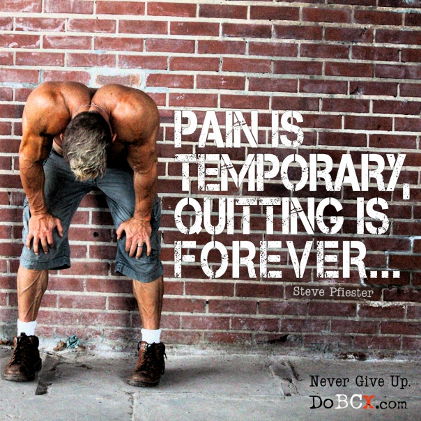 pain is temporary