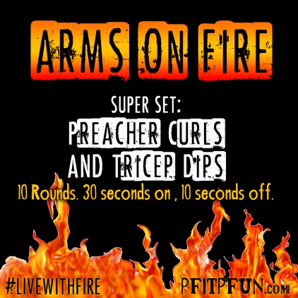 Arms On Fire WORKOUT