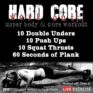 LiveExercise Hard Core Workout